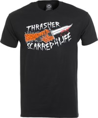 Thrasher Scarred T-Shirt - black