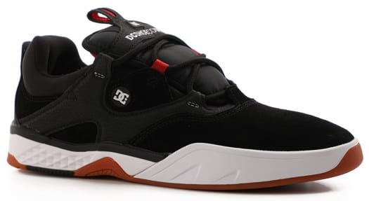 DC Shoes Kalis S Skate Shoes - black/white/red - view large