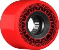 Bones ATF Rough Riders Skateboard Wheels - tank red (80a)