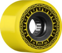 Bones ATF Rough Riders Skateboard Wheels - tank yellow(80a)