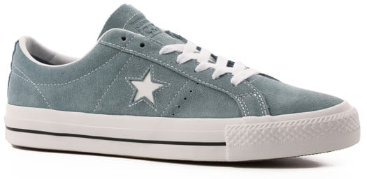 Converse One Star Pro Skate Shoes - celestial teal/black/white - view large