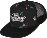 Vans Classic Patch Plus Trucker Hat - black open shade floral