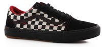 Vans Old Skool Pro BMX Skate Shoes - (kevin peraza) black/checkerboard
