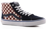 Vans Sk8-Hi Pro Skate Shoes - (checker) dress blues