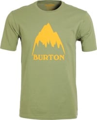 Burton Classic Mountain High T-Shirt - weeds