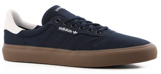 Adidas 3MC Skate Shoes - collegiate navy/footwear white/gum - view large