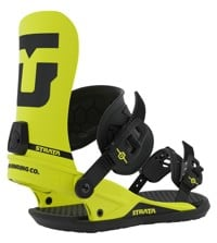 Union Strata Snowboard Bindings 2020 - team hazard yellow