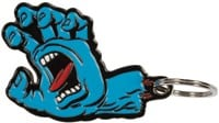 Santa Cruz Screaming Hand Keychain - blue