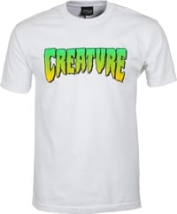 Creature Logo T-Shirt - white