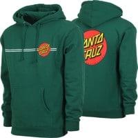 2f1193948 Santa Cruz Classic Dot Hoodie - dark green