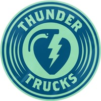 Thunder Charged MD Sticker - navy/seafoam