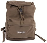 Theories Stamp Camper Backpack - brown