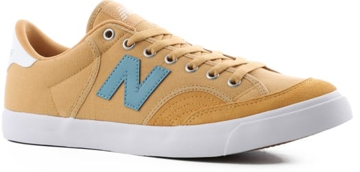 New Balance Pro Court 212 Skate Shoes - yellow/stone blue - view large