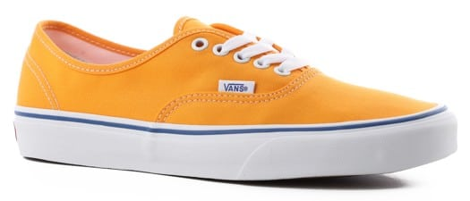 Vans Authentic Skate Shoes - zinnia/true white - view large