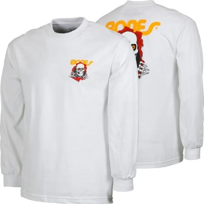 Powell Peralta Ripper L/S T-Shirt - white - view large
