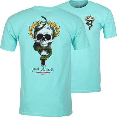 Powell Peralta McGill Skull & Snake T-Shirt - celadon - view large