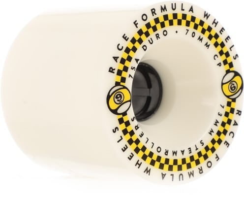 Sector 9 Race Formula Steamroller 73mm Longboard Wheels - white (75a) - view large