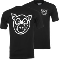 Pig F & B Head T-Shirt - black