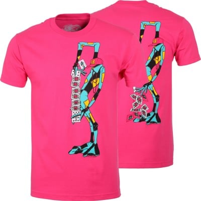 Powell Peralta Ray Barbee Ragdoll T-Shirt - hot pink - view large