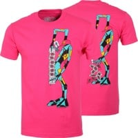 Powell Peralta Ray Barbee Ragdoll T-Shirt - hot pink