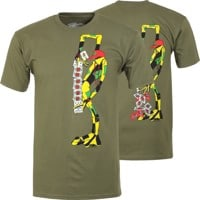 Powell Peralta Ray Barbee Ragdoll T-Shirt - military green