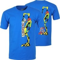 Powell Peralta Ray Barbee Ragdoll T-Shirt - royal blue
