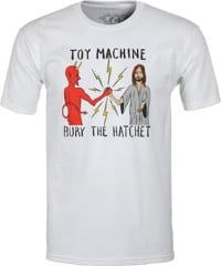 Toy Machine Bury The Hatchet T-Shirt - white