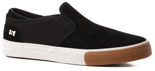 State Keys Slip-On Shoes - black/gum suede - view large