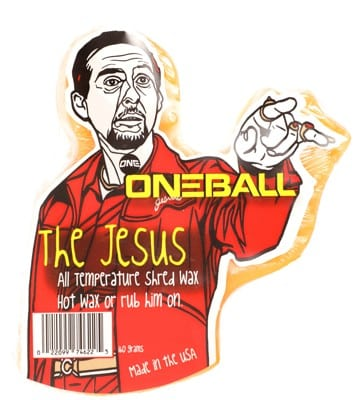 One Ball Jay The Jesus All-Temp Snowboard Wax - orange - view large