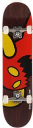 Toy Machine Vice Monster 7.75 Complete Skateboard - burgundy