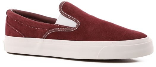 Converse One Star CC Slip-On Shoes - dark burgundy/white/white - view large