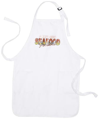 Alltimers Seafood Fest Apron - white - view large