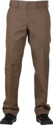 Dickies Industrial Slim Straight Work Pants - mushroom
