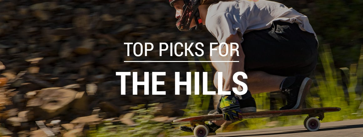Skateboarding Top Picks for Downhill & Freeride Longboarding