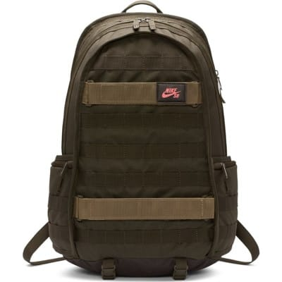 Nike SB RPM Backpack - medium olive/sequoia/ember glow - view large