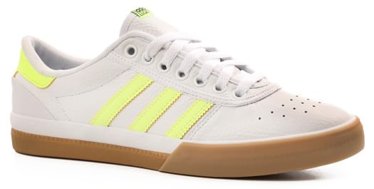 Adidas Lucas Premiere ADV Skate Shoes - ftwr white/hi-res yellow/gum 4 - view large