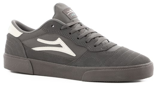 Lakai Cambridge Skate Shoes - grey suede - view large