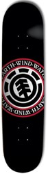 Element Seal 8.0 Skateboard Deck - black