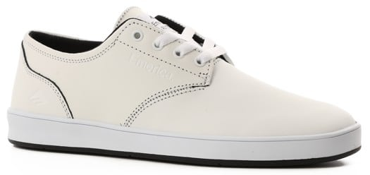 Emerica Romero Laced Skate Shoes - white/black - view large