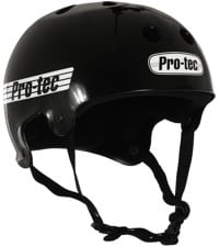 ProTec Old School Skate Helmet - gloss black