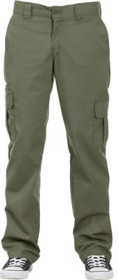 Dickies Regular Straight Cargo Pants - moss - view large