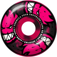 Spitfire Formula Four Classic Skateboard Wheels - pink/black swirl afterburners (99d)