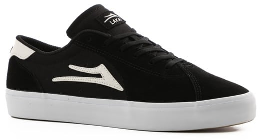 Lakai Flaco II Skate Shoes - black suede - view large