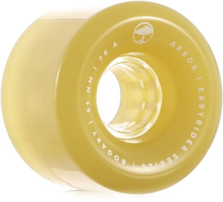 Arbor Bogart Easy Rider Series Longboard Wheels - ghost green (78a) - view large