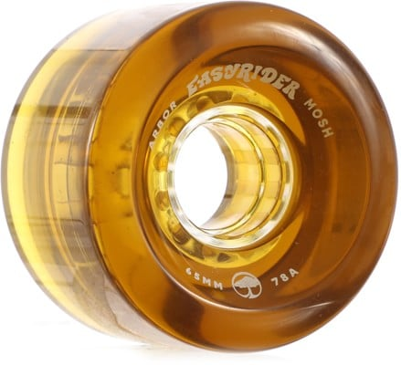 Arbor Mosh Easy Rider Series Longboard Wheels - amber v2 (78a) - view large