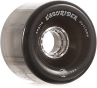 Arbor Outlook Easy Rider Series Longboard Wheels - ghost black v2 (78a)