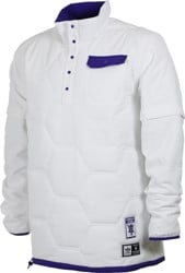 Adidas Hardies Windbreaker - white/collegiate purple