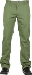 Volcom Frickin Modern Stretch Chino Pants - squadron green