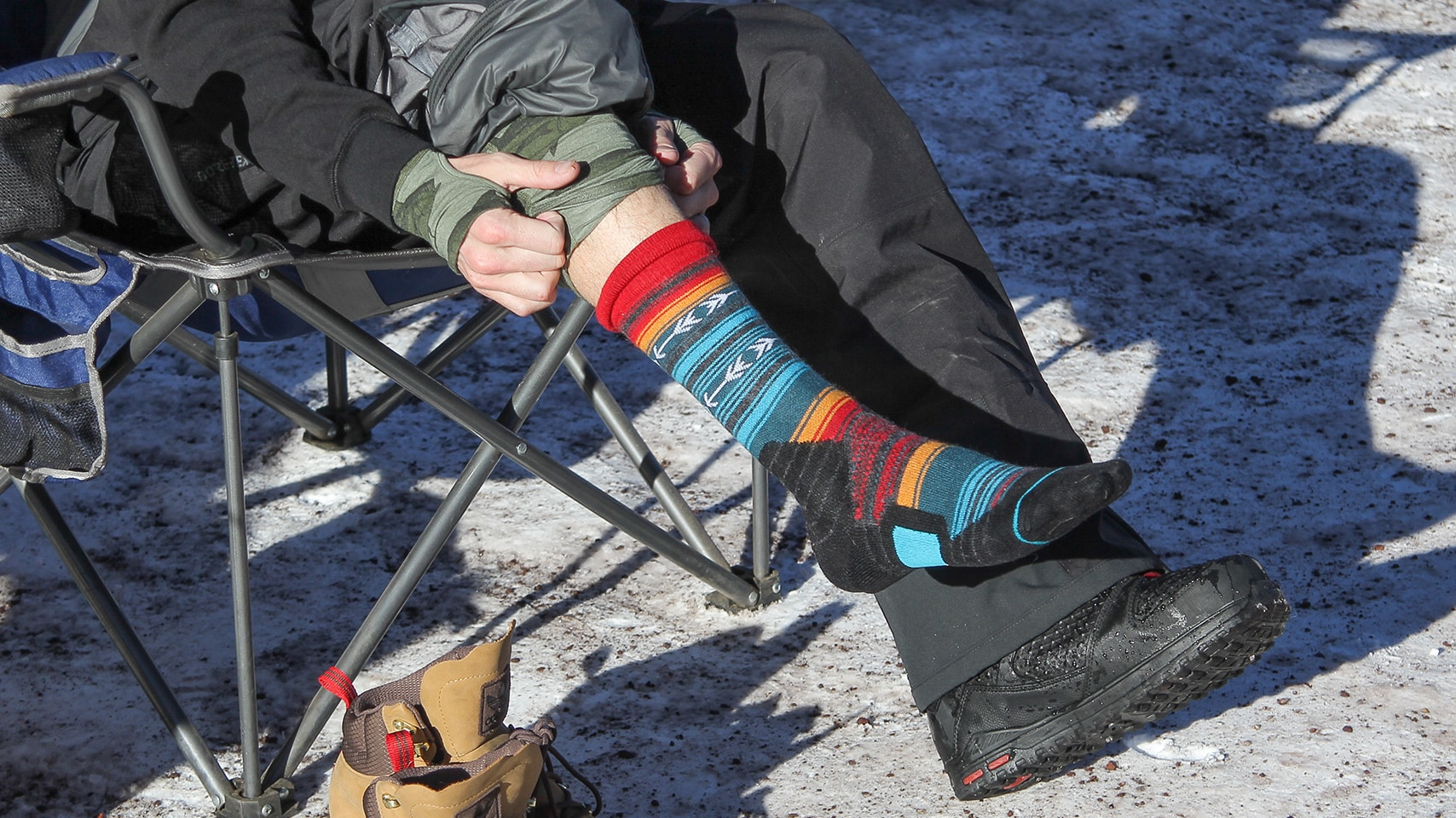 8d4f1c9ec3ebc There is a reason that snowboard specific socks were created. Wearing your  everyday cotton socks on the mountain can lead to improper boot fit, frozen  feet, ...