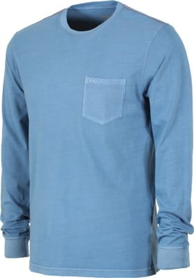 RVCA PTC Pigment L/S T-Shirt - china blue - view large